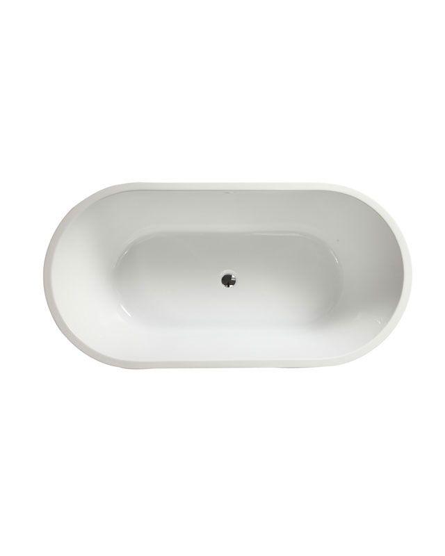 Azzuri Lola Acrylic Oval Bathtub