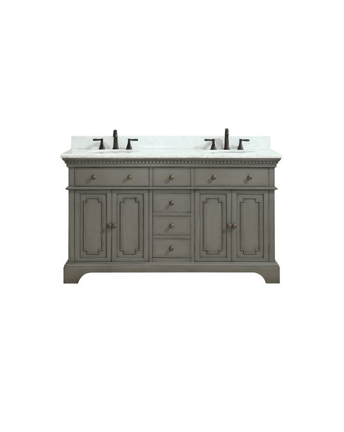 Hastings FG 61 in. Double Vanity Combo
