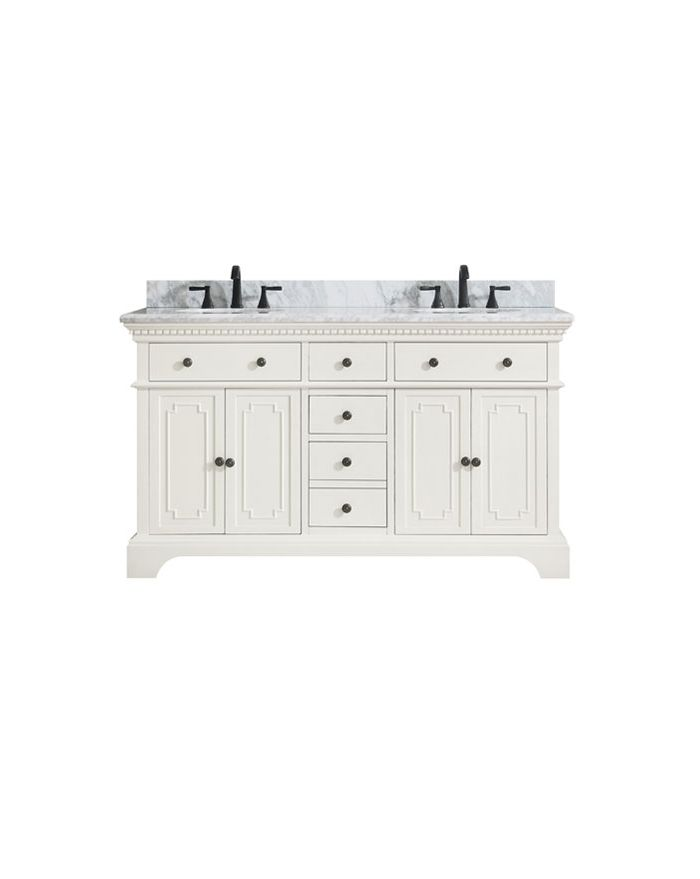 Hastings FW61 in. Double Vanity Combo
