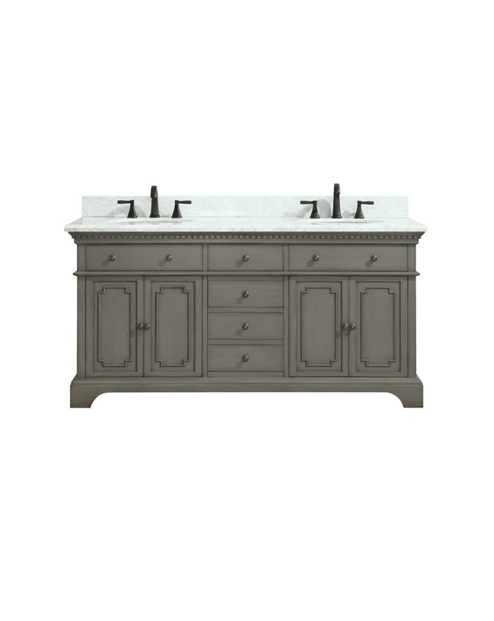 Hastings FG 73 in. Double Vanity Combo