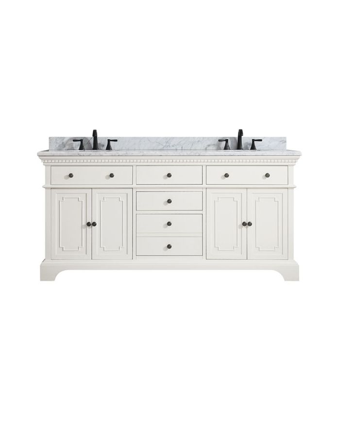 Hastings FW 73 in. Double Vanity Combo